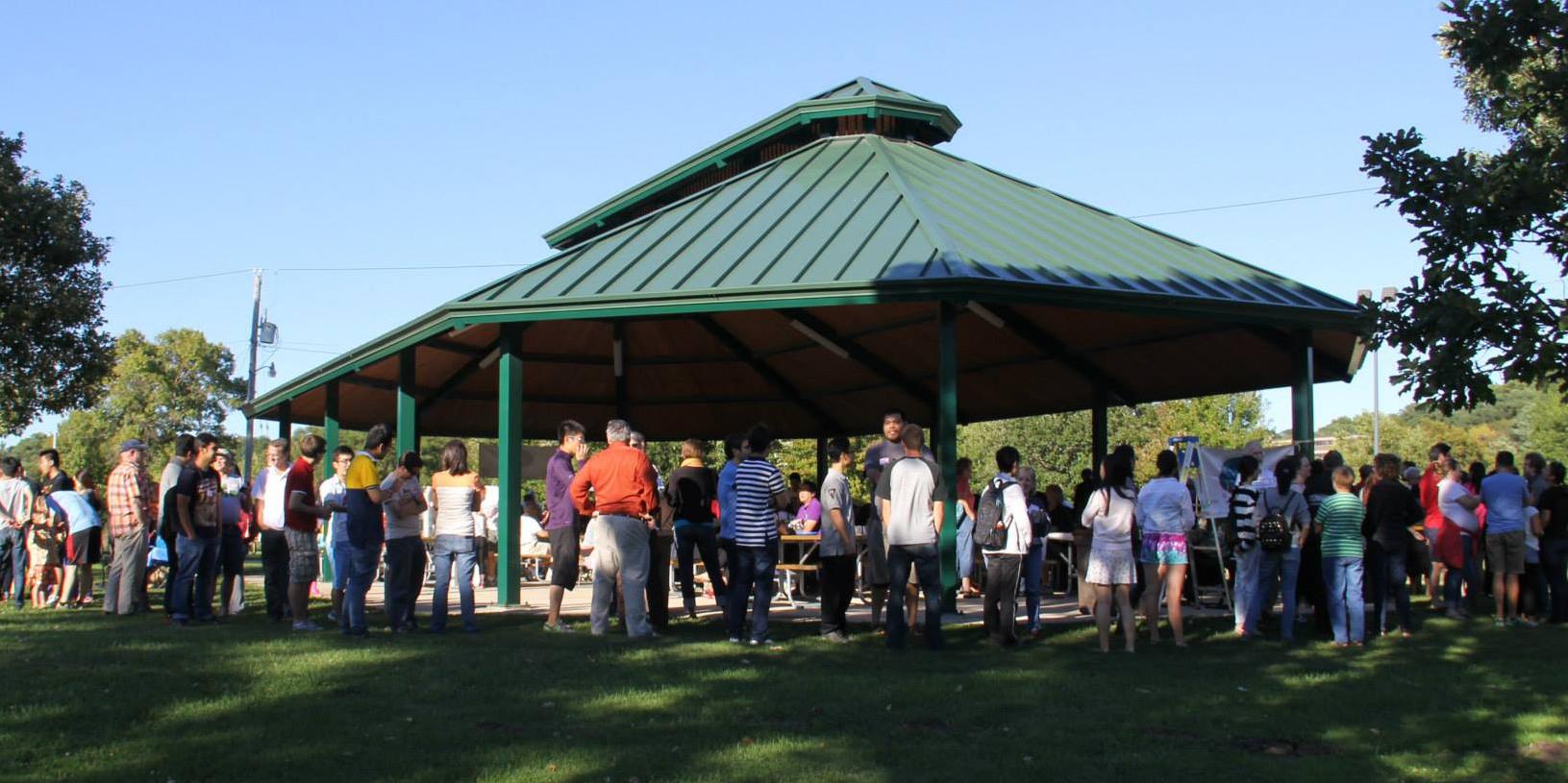 Community in Park Pavilion
